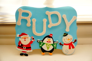 DIY Holiday Name Board - WhimsyPaper - FinalPic