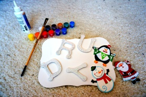 DIY Holiday Name Board - WhimsyPaper - Raw Materialv2