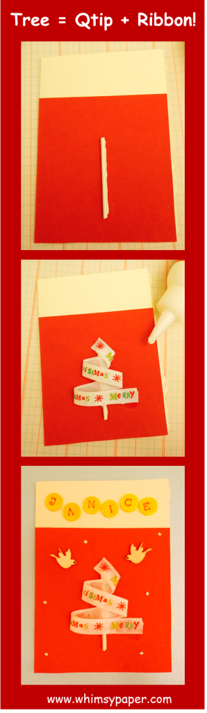 WhimsyPaper - Holiday Card - Pinterest