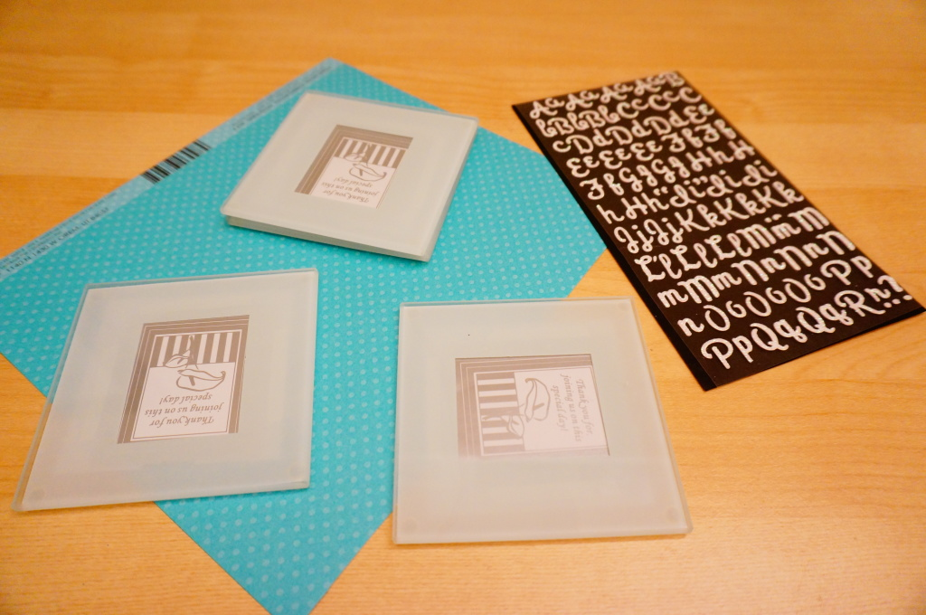 WhimsyPaper - Coasters - Material
