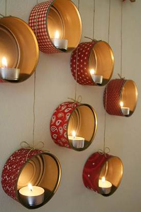 WhimsyPaper - Holiday DIY - Candleholders