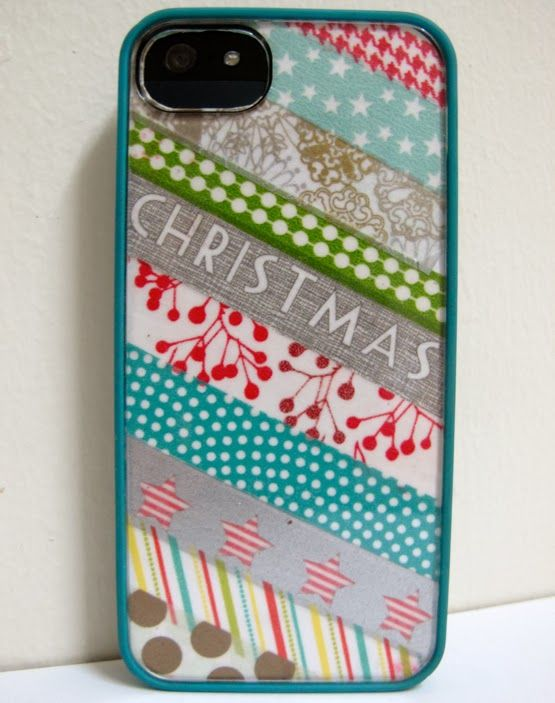 WhimsyPaper - Holiday DIY - PhoneCover