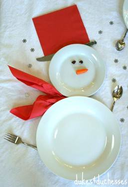WhimsyPaper - Holiday DIY - Plates