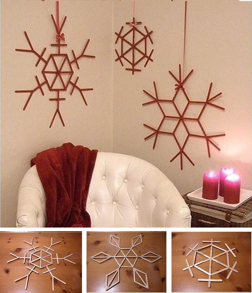 WhimsyPaper - Holiday DIY - WallDecoration